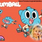 Fotomontaje gratis de Gumball
