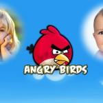 Fotomontaje de Angry Birds para dos fotos