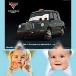 Fotomontaje de Chauncy de Cars para dos fotos