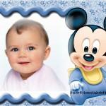 Fotomontaje de Mickey Baby