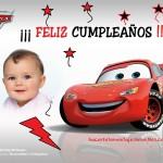 Fotomontaje de Cumpleaños con Rayo McQueen