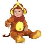 Fotomontaje disfraz de monito para bebes