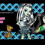 Fotomontaje de Monster High con Frankie