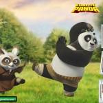 Fotomontaje de Kung Fu Panda para tres fotos