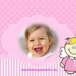 Fotomontaje de angelito para niñas