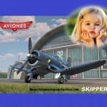 Fotomontaje de Skipper de Aviones de Disney