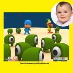 Fotomontaje para bebés con Pocoyo