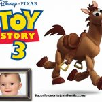 Fotomontaje con Tiro Loco de Toy Story