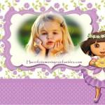 Fotomontaje de Dora la Exploradora
