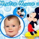 Fotomontaje de Mickey para crear online
