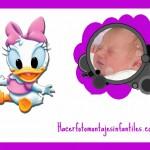 Fotomontaje de Daisy Baby