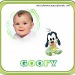 Fotomontaje de Goofy Baby
