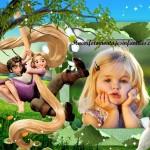 """Fotomontaje de Rapunzel y Flynn, """"Enredados"""""""