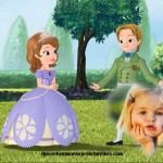 Fotomontaje de Princesa Sofia y James