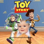 Fotomontaje de Woody y Buzz Lightyear