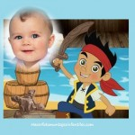 Fotomontaje de Jake el Pirata para crear gratis