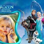 Fotomontaje de la película Frozen para crear gratis