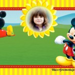 Fotomontaje de Mickey Club House