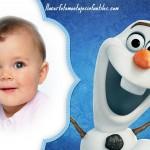 Fotomontaje con Olaf de Frozen