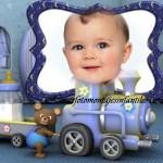 Crear fotomontaje para bebitos