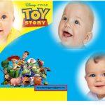 Fotomontaje de Toy Story para tres fotos