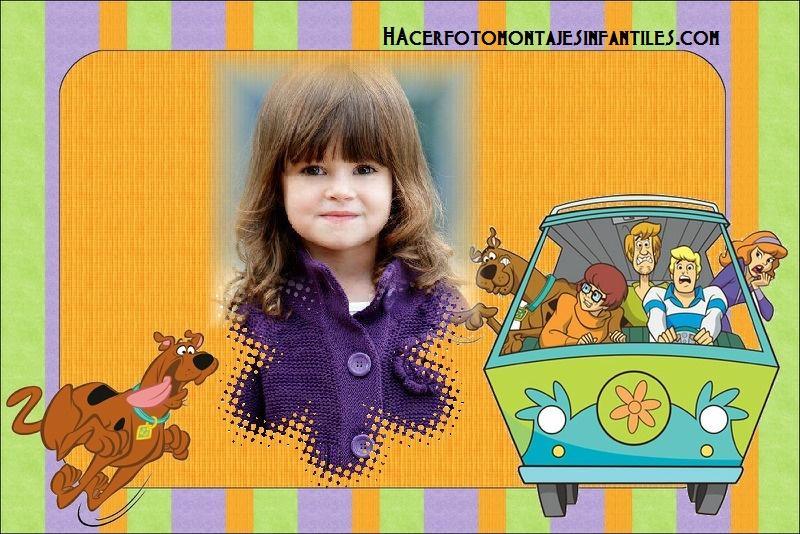 Hacer fotomontajes de Scooby Doo | Fotomontajes infantiles