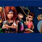 Fotomontaje de Hadas y Piratas con Tinkerbell