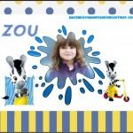 Fotomontaje gratis de Zou cebra