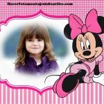 Fotomontaje de Minnie Mouse