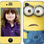 Fotomontaje de celular de Minions