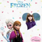 Fotomontaje de Elsa y Anna Frozen