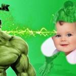 Fotomontaje de Increible de Hulk