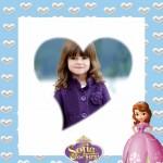 Fotomontaje con marco de Princesita Sofía