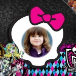 Fotomontaje de Monster High