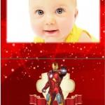 Fotomontaje de Iron Man