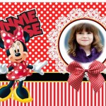 Hermoso fotomontaje de Minnie