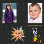 Fotomontaje de Zou para tres imágenes