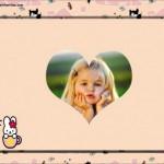 Fotmontaje infantil de Hello Kitty
