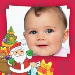 Fotomontaje Infantil con Santa Claus o Papá Noel para crear gratis