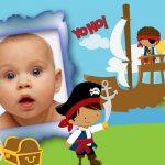 Fotomontajes de niños piratas para hacer gratis