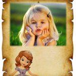 Marco para fotos de Princesa Sofia
