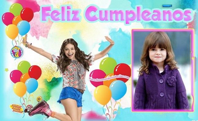 Marco Feliz Cumpleaños con Soy Luna | Fotomontajes infantiles