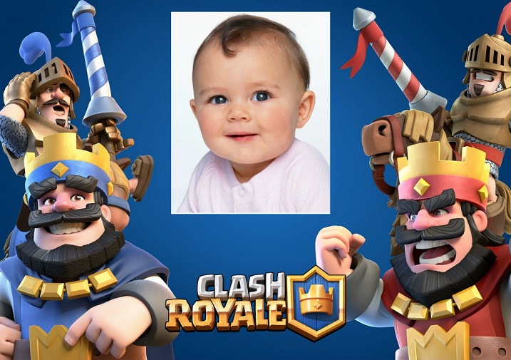Editar fotos Clash Royale