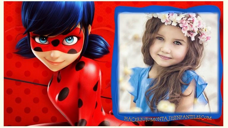 Ladybug marcos infantiles