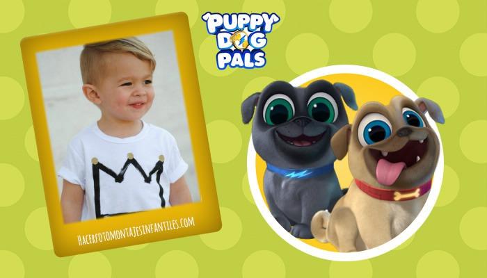 Bingo y Rolly fotomontajes infantiles gratis
