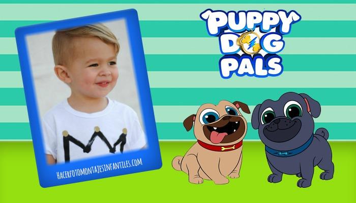 Fotomontaje De Puppy Dog Pals Fotomontajes Infantiles
