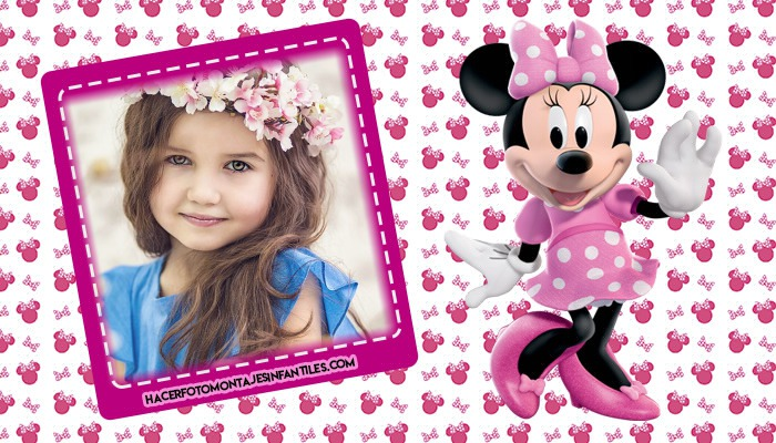 fotomontajes minnie